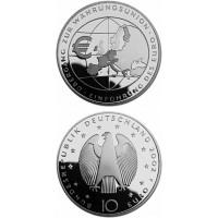 Vokietija 2002 10 euro Ubergang zur Wahrungsunion F