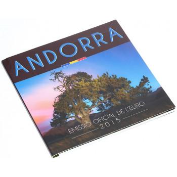 Andora 2015 Euro monetų BU rinkinys