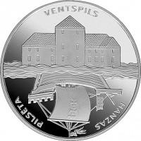 Latvija 2000 Ventspilis. Hanzos miestai.