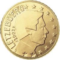 Liuksemburgas 0,10 centų 2002