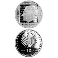 Vokietija 2010 10 euro Konrad Zuse G