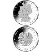 Vokietija 2010 10 euro Deutsche Einheit A