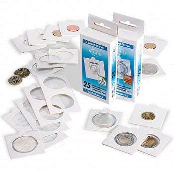 LEUCHTTURM lipnūs monetų holderiai 27,5mm.