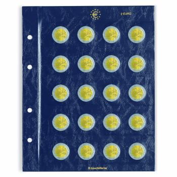 Leuchtturm įmautės VISTA dviejų eurų monetoms