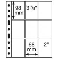 Leuchtturm įmautės GRANDE devyni skyriai 68x98 mm