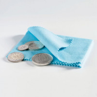 Monetų valymo šluostė