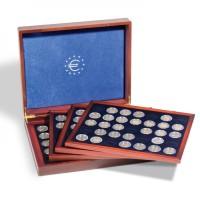 Leuchtturm prezentacinė dežė Volterra Quattro de Luxe 2 eurų monetoms kapsulėse