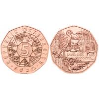 Austrija 2013 5 eurų - Vandens žemės
