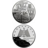 Vokietija 2003 10 euro Juni 1953 F