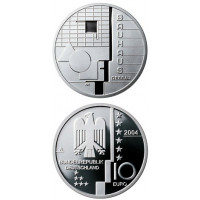 Vokietija 2004 10 euro Bauhaus Dessau A