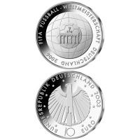 Vokietija 2006 10 euro Fifa