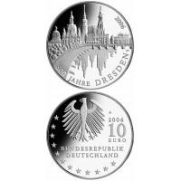 Vokietija 2006 10 euro Dresden A