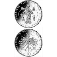 Vokietija 2007 10 euro Geburtstag Elisabeth von Thuringen A
