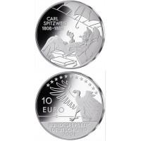 Vokietija 2008 10 euro Carl Spitzweg D