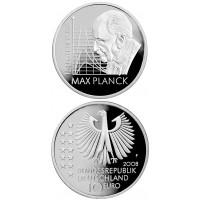 Vokietija 2008 10 euro Max Planck F