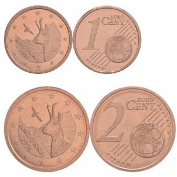 Andora 2014 1 ir 2 centai (komplektas)