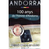 Andora 2017 Himno 100-metis