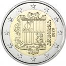 Andora 2020 2 eurų apyvartinė moneta