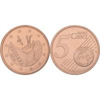 Andora 2014 5 centai