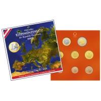 Austrija 2008 Euro monetų BU rinkinys