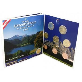 Austrija 2009 Euro monetų BU rinkinys