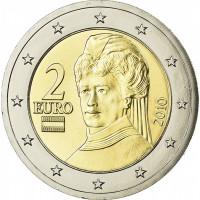 Austrija 2019 2 eurų apyvartinė moneta