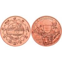 Austrija 2016 10 eurų - Austrija
