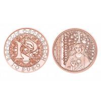 Austrija 2018 10 eurų Rafaelis - gydantis angelas