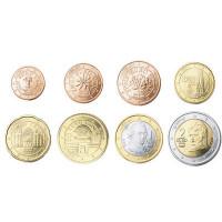 Austrija 2008 Euro monetų UNC rinkinys