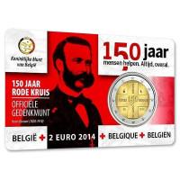Belgija 2014 Belgijos Raudonojo Kryžiaus 150-osios metinės