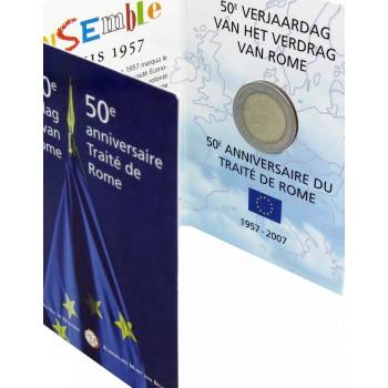 Belgija 2007 Romos sutarties 50-osios metinės KORTELĖ