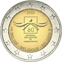 Belgija 2008 Visuotinės žmogaus teisių deklaracijos 60-osios metinės