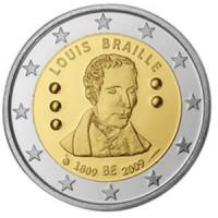 Belgija 2009 Luiso Brailio (Louis Braille) gimimo 200-osios metinės