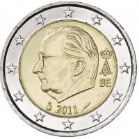 Belgija 2011 2 eurų apyvartinė moneta