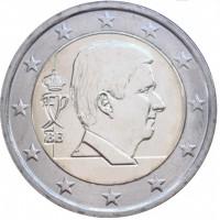 Belgija 2019 2 eurų apyvartinė moneta
