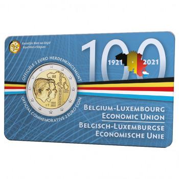 Belgija 2021 100-osios Belgijos-Liuksemburgo ekonominės sąjungos metinės