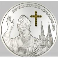 Kongo Demokratinė Respublika 2005 10 Francs Benedict XVI