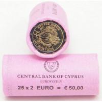 Kipras 2012 Eurų banknotų ir monetų dešimtmetis, Rulonas