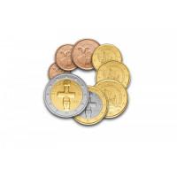 Kipras 2020 Euro monetų UNC rinkinys
