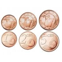 Kipras 2016 Euro monetų mini rinkinys