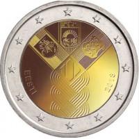 Estija 2018 Baltijos valstybių 100-metis