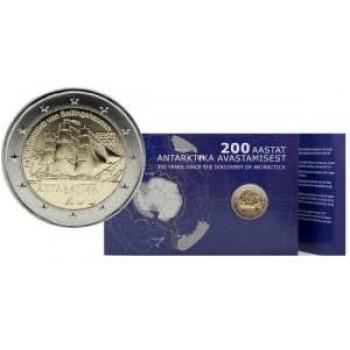 Estija 2020 200-osios Antarktidos atradimo metinės kortelė