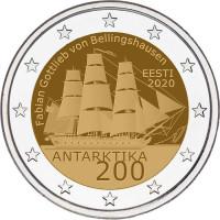 Estija 2020 200-osios Antarktidos atradimo metinės