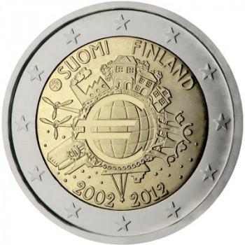 Suomija 2012 Eurų banknotų ir monetų dešimtmetis