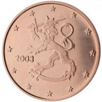 Suomija 2003 0.01 centas