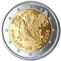 Suomija 2005 Jungtinėms Tautoms – 60 metų, Suomijos narystei JT – 50 metų