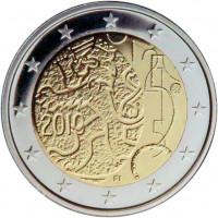 Suomija 2010 1860 m. Valiutos dekretas, kuriuo Suomijai suteikiama teisė leisti banknotus ir monetas