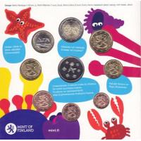 Suomija 2010 Euro monetų BU rinkinys Vaikas