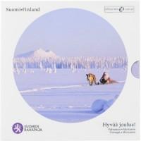 Suomija 2012 Euro monetų BU rinkinys Šv. Kalėdos