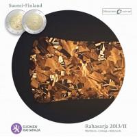 Suomija 2013/2 Euro monetų BU rinkinys su proginėmis monetomis